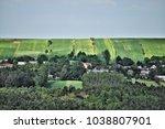 spring landscape of polish... | Shutterstock . vector #1038807901