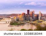 Panoramic View Of Pittsburgh...
