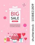 anniversary event popup | Shutterstock .eps vector #1038821809