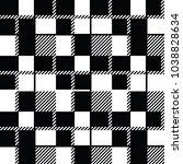 tartan fabric texture plaid... | Shutterstock .eps vector #1038828634