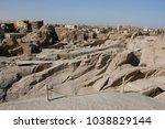 the unfinished obelisk | Shutterstock . vector #1038829144