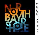north bay shore new york...   Shutterstock .eps vector #1038836329