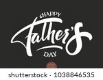 happy father's day elegant... | Shutterstock .eps vector #1038846535