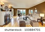 beautiful living room with... | Shutterstock . vector #103884701