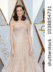 allison williams at the 90th... | Shutterstock . vector #1038854731