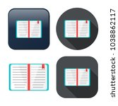 education book icon   library... | Shutterstock .eps vector #1038862117