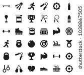flat vector icon set   award... | Shutterstock .eps vector #1038867505