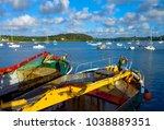 Boat Of The Port De Saint Pabu