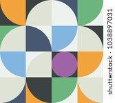 geometry minimalistic artwork... | Shutterstock .eps vector #1038897031