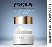 hydrating facial cream for... | Shutterstock .eps vector #1038901891