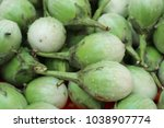 eggplant at street food | Shutterstock . vector #1038907774