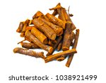 close up of ayurvedic herb... | Shutterstock . vector #1038921499
