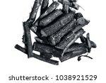 close up of ayurvedic herb... | Shutterstock . vector #1038921529