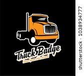 truck logo vector   Shutterstock .eps vector #1038934777