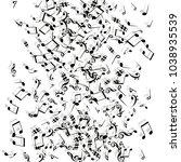 vector confetti background...   Shutterstock .eps vector #1038935539