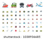 all type of transport ... | Shutterstock .eps vector #1038936685