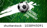 football tournament  soccer ... | Shutterstock .eps vector #1038945091