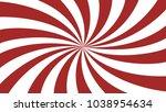 red rays background. sunburst... | Shutterstock .eps vector #1038954634