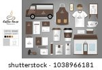 corporate identity template set ... | Shutterstock .eps vector #1038966181