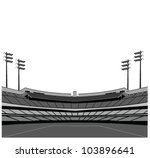 stadium background . vector... | Shutterstock .eps vector #103896641