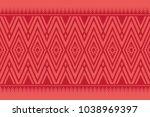 geometric ethnic pattern...   Shutterstock .eps vector #1038969397