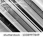 grunge white and black stripes. ... | Shutterstock .eps vector #1038997849