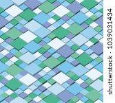 vector cube geometric...   Shutterstock .eps vector #1039031434