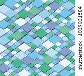 winter. square mosaic vector...   Shutterstock .eps vector #1039031584
