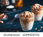 gingerbread coconut overnight... | Shutterstock . vector #1039033741