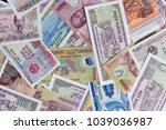 vietnamese money dong  vnd  on... | Shutterstock . vector #1039036987