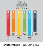 circles and other elements for... | Shutterstock .eps vector #1039041469