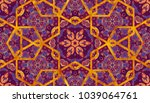 abstract islamic pattern in... | Shutterstock . vector #1039064761