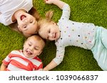 childhood  leisure and family...   Shutterstock . vector #1039066837