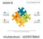 four elements process chart... | Shutterstock .eps vector #1039078864