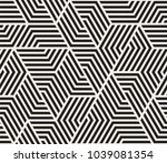 vector seamless pattern. modern ... | Shutterstock .eps vector #1039081354