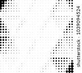 grunge halftone black and white ... | Shutterstock .eps vector #1039094524