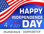 independence day.  usa. ...   Shutterstock . vector #1039100719