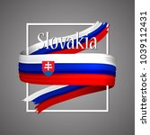 slovakia flag. official...   Shutterstock .eps vector #1039112431