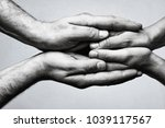 concept of caring  tenderness ... | Shutterstock . vector #1039117567