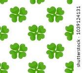 seamless background  irish... | Shutterstock . vector #1039124131