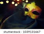 carnival mask background | Shutterstock . vector #1039131667