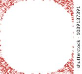 heart red pattern which... | Shutterstock .eps vector #1039137391