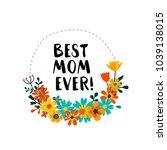 vector flat illustration for... | Shutterstock .eps vector #1039138015