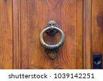 door knocker   rome  italy   Shutterstock . vector #1039142251