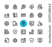 data security  privacy ...   Shutterstock .eps vector #1039148014