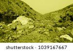 martian landscape of the lost... | Shutterstock . vector #1039167667