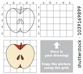 copy the picture using grid... | Shutterstock .eps vector #1039169899