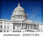 united states capitol building  ...   Shutterstock . vector #1039171201