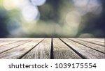 rustic wood table texture over...   Shutterstock . vector #1039175554