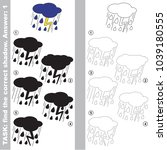 thunder storm to find the... | Shutterstock .eps vector #1039180555